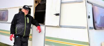 Polisen fann ammunition men missade dynamitladdningar i politikers husvagn